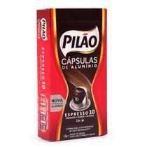 Cápsulas Para Cafeteira Pilão Espresso 10 Caixa Com 10 52