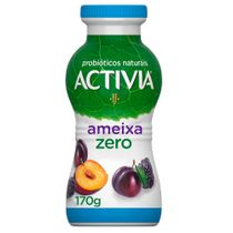 Activia Líquido Ameixa Zero Lactose 170g